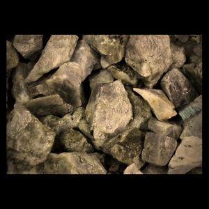1/4 LB/ 500 Carats of Labradorite Crystal Chunks